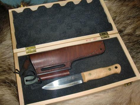 neck knives for sale uk sold alan wood woodlore mears knife maple