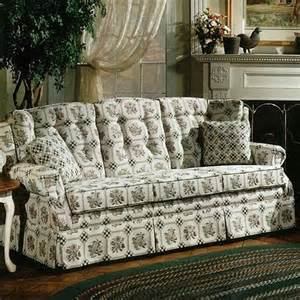Country Style Dining Room Furniture Lancer 840 Country Style Sofa With Skirt Wayside