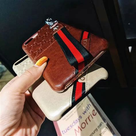 gucci leather wallet phone case cover  apple iphone