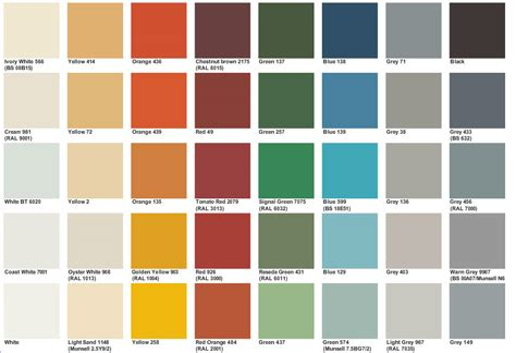 marine color marine paint color chart autos weblog