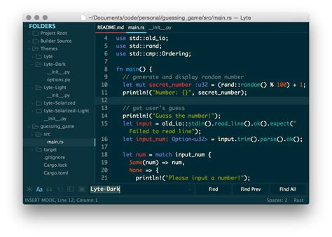 sublime text 3 solarized theme github lytedev lyte theme a minimal aesthetically