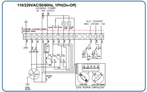 actuator wiring diagram efcaviation