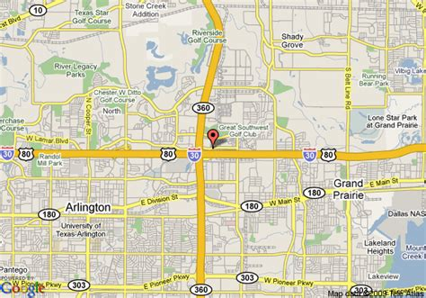 arlington texas on map map of arlington hotel and suites arlington