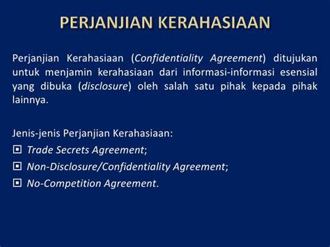 hki dan hukum perjanjian