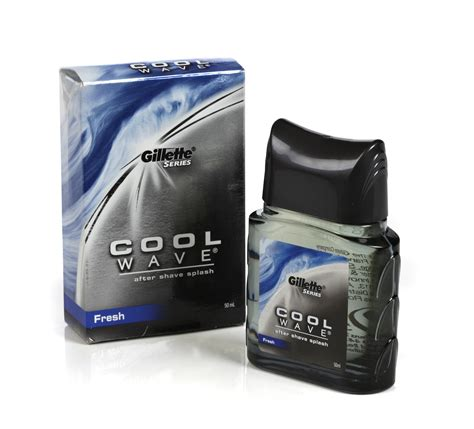 splash bathroom accessories gillette series 952227 cool wave after shave splash