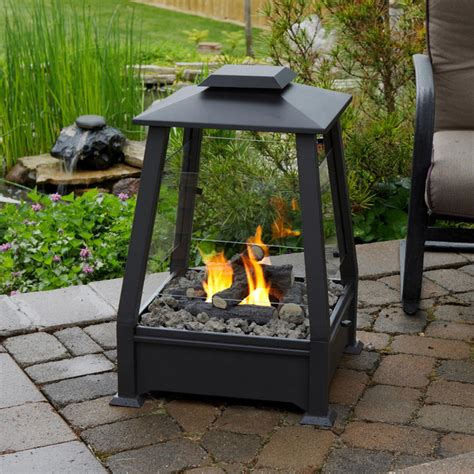 ventless pit real outdoor fireplace contemporary