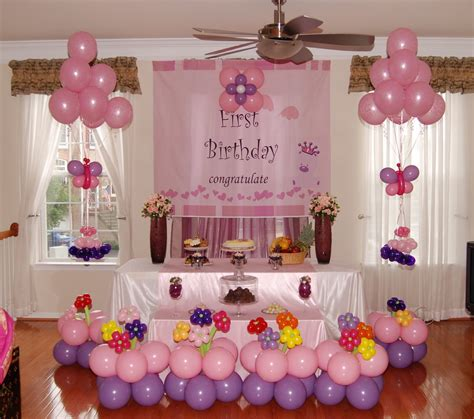 Baby Birthday Decoration At Home How To Create A Birthday Checklist Great Ideas