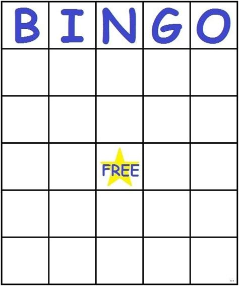 blank bingo card template pdf blank bingo card template microsoft word template