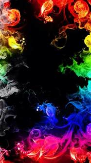 colorful smoke wallpaper colorful flames iphone wallpaper background
