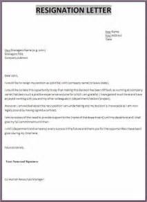 professional resignation letter designproposalexample com