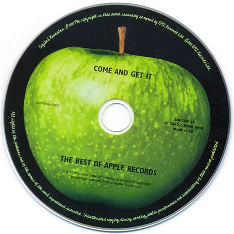 Of Records Come And Get It The Best Of Apple Records Mp3 Buy Tracklist