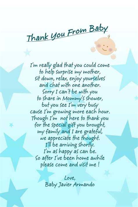 Baby Boy Baby Shower Poems by Baby Shower Poem Baby Boy Baby Shower
