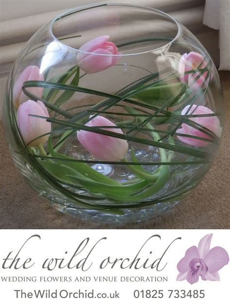 Flowers Inside Glass Vase by The 25 Best Fish Bowl Vases Ideas On Inexpensive Centerpieces Floating Flower