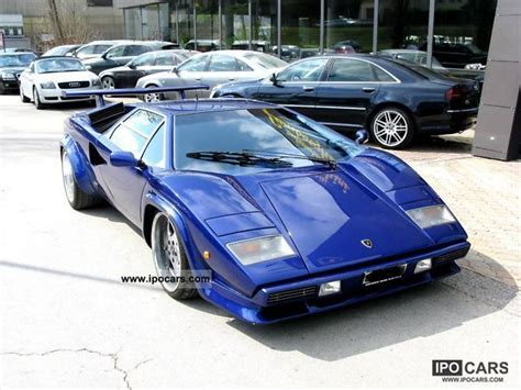 Lamborghini Countach Specs 1982 Lamborghini Countach Car Photo And Specs