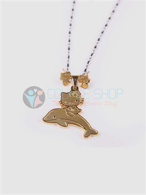 Kalung Single Jerapah Titanium Kode Kls049 kalung single gold plated kode 724 shop