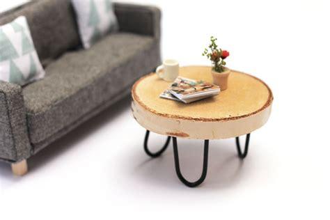 Craftykins // DIY Miniature Mid Century Modern Dollhouse