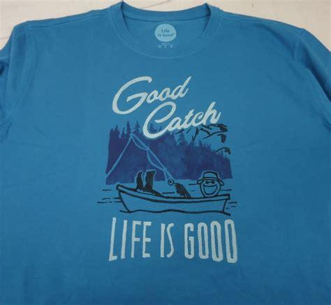 L S T Shirt s is l s t shirt fishing large ebay