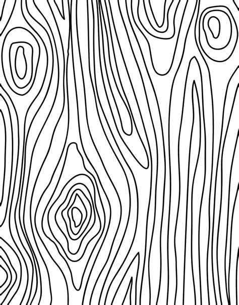 wood pattern drawing doodlecraft freebie 7 faux bois wood grain printables