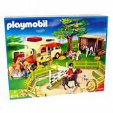 Playmobil - 4074 Horse Ranch & Truck Set