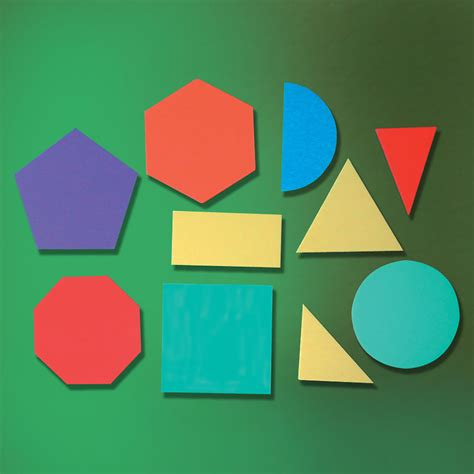 Shape 2 D buy 2d foam geometric shapes 10pcs tts