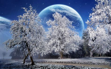 Free Download Winter Scenery Powerpoint Backgrounds Winter Powerpoint Background