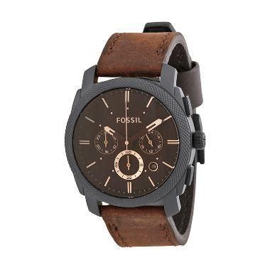 Fossil Mocca Brown Harga Satuan 1 jual fossil machine flight chronograph fs4656 jam tangan pria brown harga