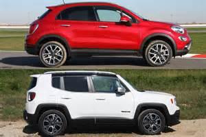 Fiat Jeep Renegade Jeep Renegade Y Fiat 500x Iguales Distintos