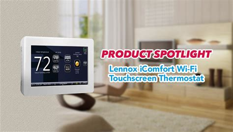 Lennox I Comfort by Lennox Icomfort Wi Fi Touchscreen Thermostat