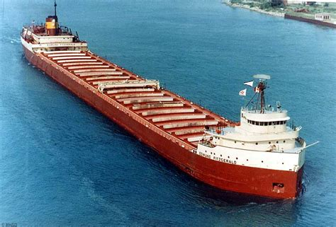 Largest Ship To Sink In The Great Lakes by Fornology The Edmund Fitzgerald Sinking 40th