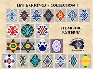 free brick stitch earring patterns lena patterns