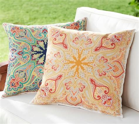 pottery barn bed pillows penelope indoor outdoor pillow pottery barn
