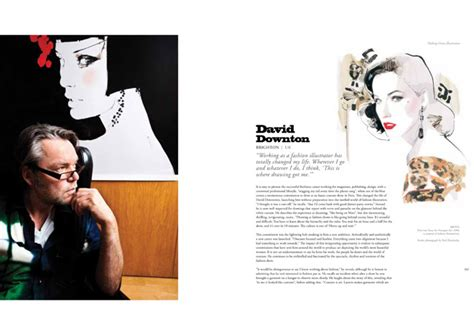 making great illustration david downton international fashion illustrator and celebrity portrait artist