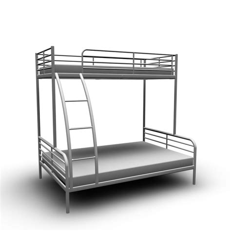 Tromso Bed Frame Troms 214 Bunk Bed Frame Design And Decorate Your Room In 3d