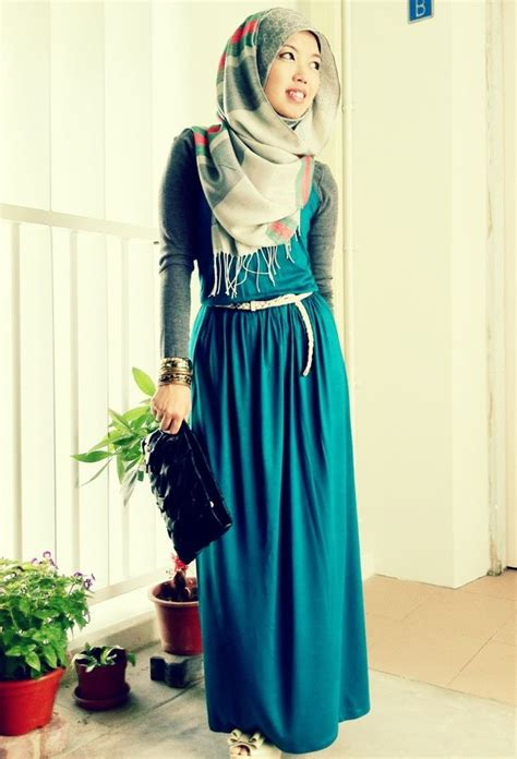 More Maxi Dresses Are You Bored Yet by Simple Yet Islamic Fashion Hijabs