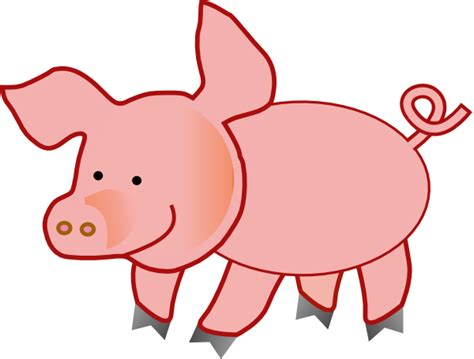 Pigs Clipart small pig clip at clker vector clip royalty free domain