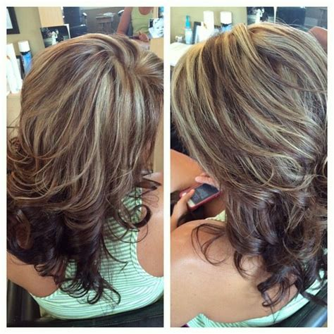 how to add highlights to medium brown hair at home brown chocolate brown lowlights white blonde highlights