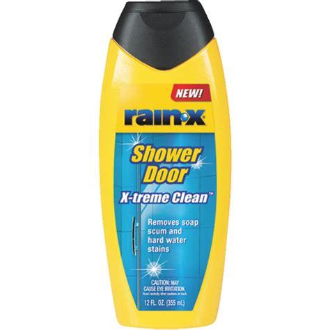 rainx shower door x shower door x treme clean shower cleaner