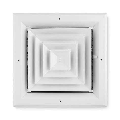 shop accord ventilation 484 series white aluminum ceiling