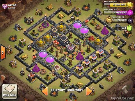 th9 layout strategy collection of anti hog war base th9 strategy to design