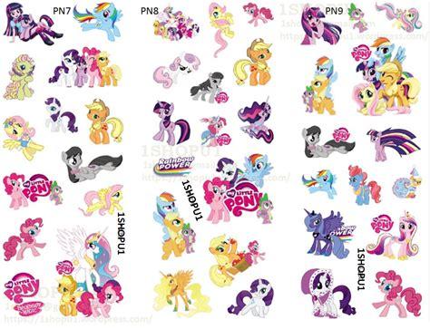 Stiker Sticker Pony sn63928 my pony various colourful stickers 1shopu1