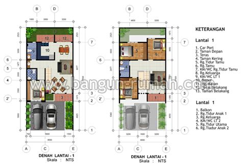 biaya bangunan per meter