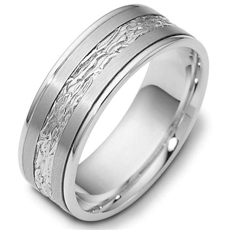 comfort fit wedding bands 110601pd palladium comfort fit 7mm wedding band