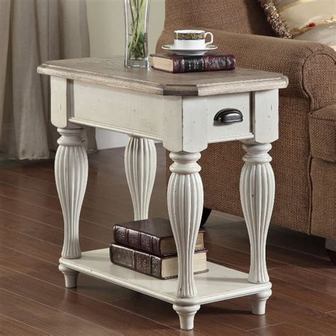 bring light to your room with a white end table coffee