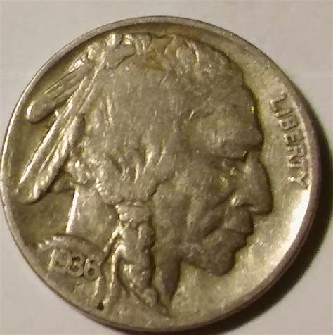 1936f buffalo nickel artifact collectors