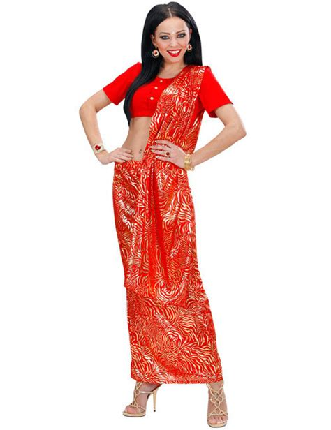 Sari Gold Series sari damenkost 252 m inderin rot gold inderin inderin