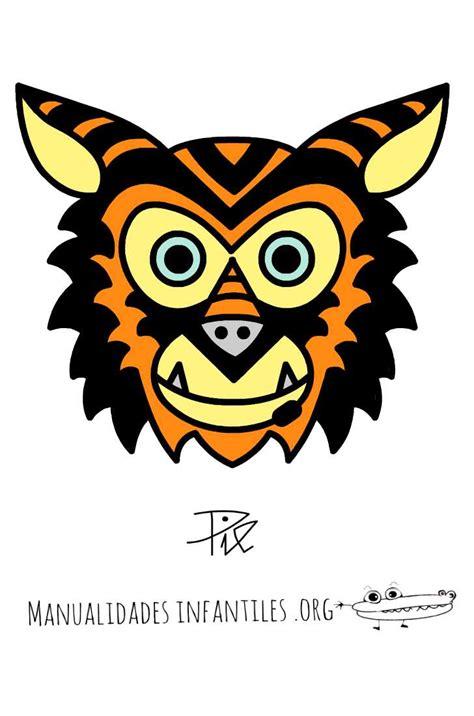 mascaras del tucan m 225 scara de tigre hor 243 scopo chino manualidades infantiles