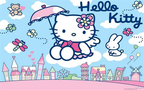 hello kitty town wallpaper hello kitty hd wallpapers free wallpaper cave