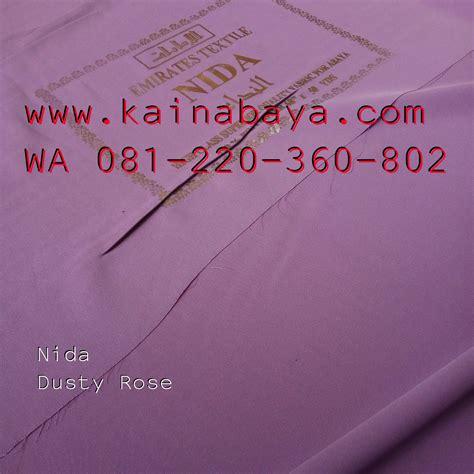 Abaya Bahan Fursan 8 kain nida warna nada nidha fursan impor import baros