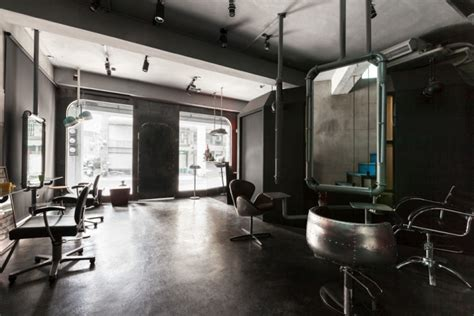 gallery of renovation of split level hair salon renovation of split level hair salon residential by hao