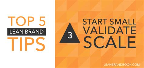 5 smart ways for startups to validate ideas globalmarketingtactics com start small validate scale